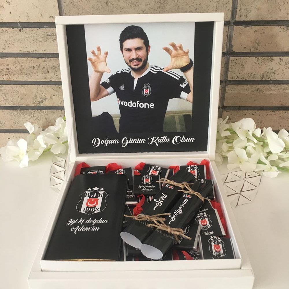 Beşiktaş Taraftar Çikolatası-Fotoğraflı