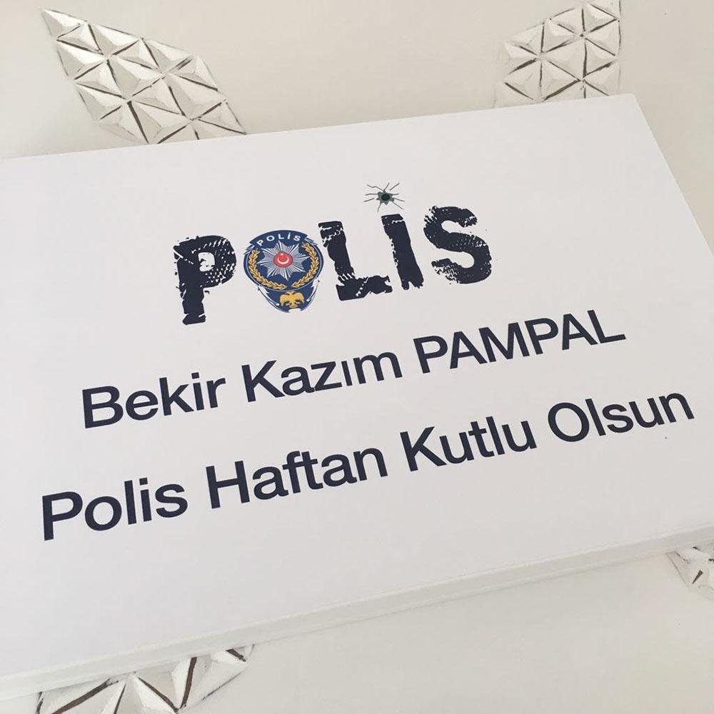 Polis Çikolatası Polis Haftası-Sevgiliye Özel