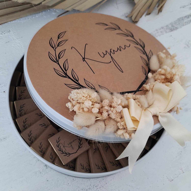 Kraft Bebek Çikolatası, Çiçekli Çikolata