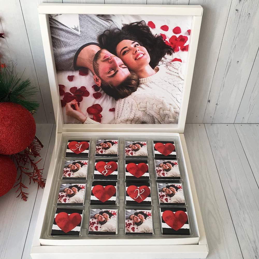 Fotoğraflı Çikolata - Sevgiliye Hediye