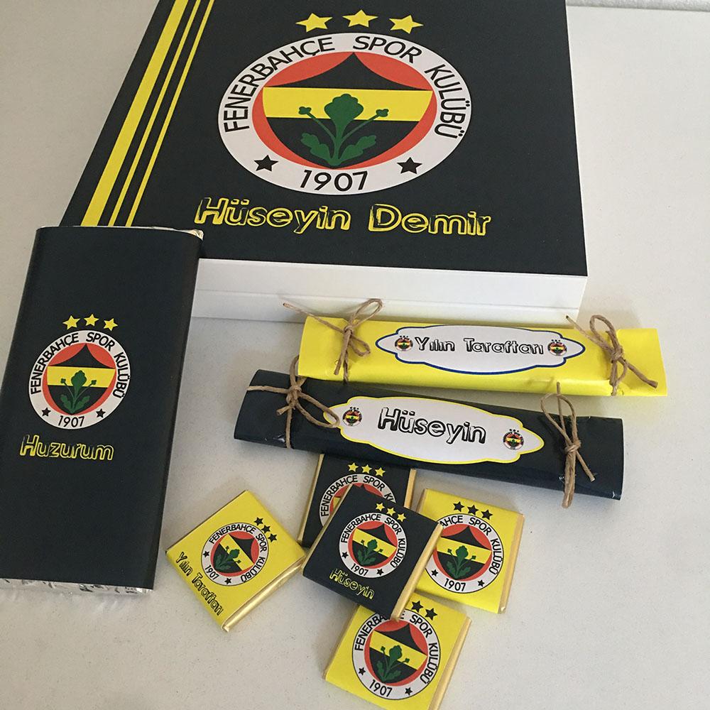 Kişiye Özel Fenerbahçe Taraftar Çikolatası
