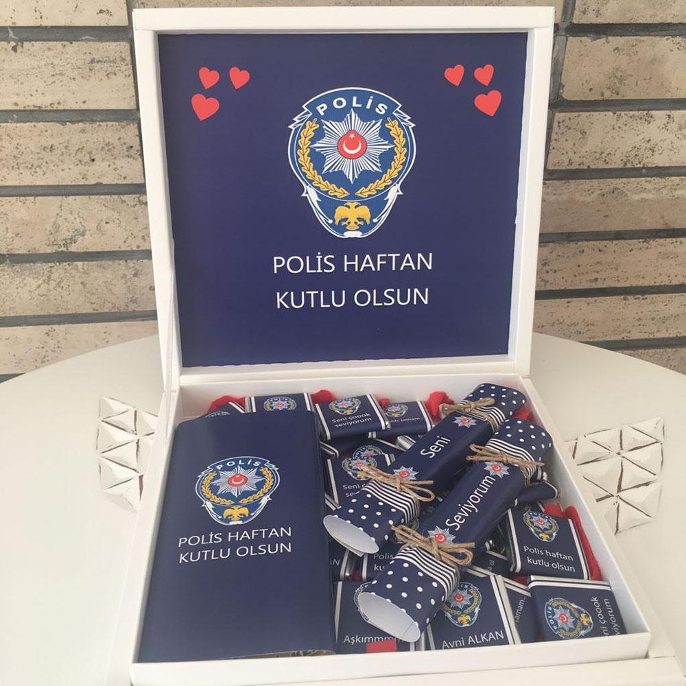 Polis Çikolatası Polis Haftası-Özel Paket